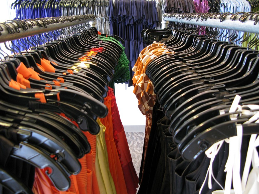 Racks of clothing: http://www.freeimages.com/photo/1336617