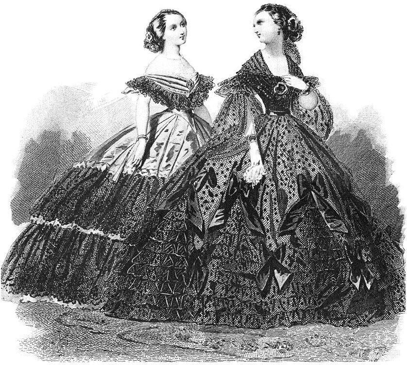 Ball Gowns Victorian Corset